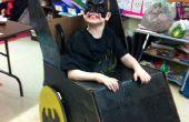 Silla de ruedas Batmobile traje