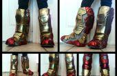 Hierro hombre Cosplay botas