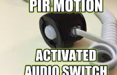 Movimiento PIR activado interruptor Audio