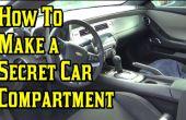 Hacer un compartimiento secreto del coche!
