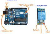 Activado por voz de Arduino luces / salida