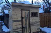 Sauna de leña
