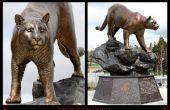 Creación de un monumento de Universidad y réplica bronces