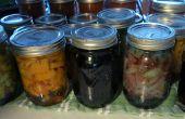 Conservado en vinagre remolachas y cebollas