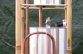 La Allen Hydrautomat, un modelo de lata de pintura de trabajo.