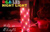Cambio de luz de noche LED color