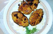 Receta picante indio pescado frito