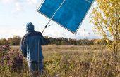 Parasol de un fotógrafo portátil
