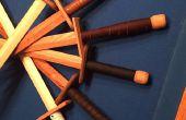 Espadas de madera y cómo aprendí a amar el trabajo de cuero
