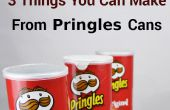 3 cosas que usted puede hacer desde latas Pringles