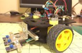 Simple robot velocista con un brote de Runt para Rover Actobotics