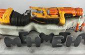 Tarta pistola Nerf-3d