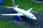 RC Depron Boeing 737-500 40mm FED