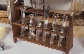 Cómo construir tu propio laboratorio de química de cero y un sencillo experimento para hacer con él!