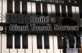 ¿Cómo hacer una pantalla táctil gigante