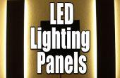 Hacer tus propios paneles de iluminación LED