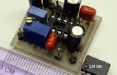 El pequeño amplificador de Audio