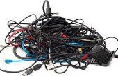 Gerencia del Cable del ordenador portátil