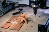 Adornos de madera fácil