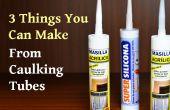 3 cosas que usted puede hacer de calafateo de tubos de