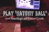 Jugar bola pegadiza con Makey Makey y circuito Scribe
