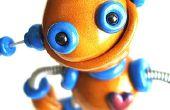 Esculturas de robots, a veces saltones zangolotean siempre impresionante