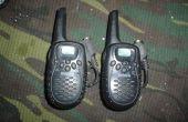 Añadir un auricular a tus walkie talkies