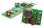 Módulo transmisor/receptor de RF 315/433 MHz y Arduino