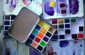 Paintbox con recipientes magnéticos