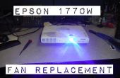 ¿Epson 1770W LCD proyector sobrecalentamiento? Lo repare!
