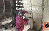 Cómo aislar paredes exteriores
