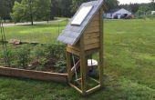 Control remoto Solar Jardín sistema de riego