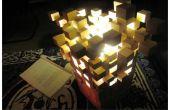 Cósmicas bloques Minecraft linterna