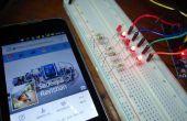 Arduino con Facebook - la forma fácil de control