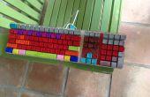 νm;Sharpify su teclado viejo
