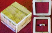 Hacer una caja de anillo de restos de madera