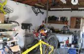 Cómo hacer un colgante bicicleta bicicleta reparación soporte (modificado)