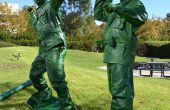 Soldados de juguete de plástico