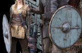 Vikingos televisión temporada 1: Ragnar y los trajes de Lagertha con la instrucción de pelo de bono cómo