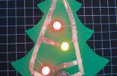 Papel de LED Holiday Tree