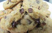 Chewy chispas de Chocolate y nuez galletas