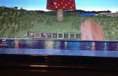 Casa en Minecraft la seta