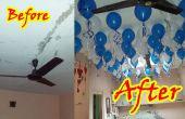 Decora tu casa con globos flotando en el aire