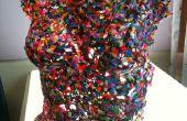 Derrite los granos plásticos - Torso de color