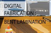 Fabricación digital: Laminación molde de doblado