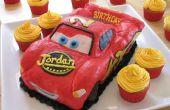 Pastel de cumpleaños Rayo McQueen
