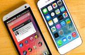 Cómo hacer un interruptor de Android a iOS plataforma