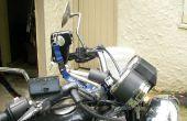 ¿Barato (feo)? Soporte cámara para moto