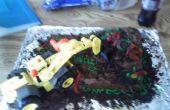 3 º pastel de construcción