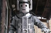 DOCTOR WHO CYBERMAN traje